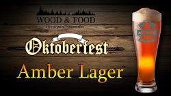 Oktoberfest Amber Lager - новинка от пивоварни Wood & Food