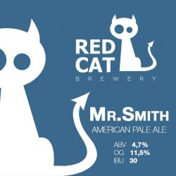Mr. Smith — новый сорт от Red Cat Craft Brewery