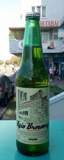 Kyiv Brewery - новинки от пизавода Оболонь