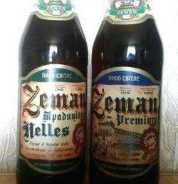 Пиво Zeman из Луцка снова в стекле