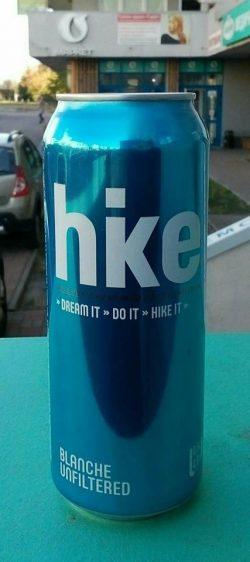 Hike Blanche Unfiltered - новинки от пивзавода Оболонь