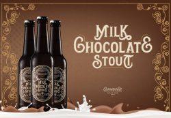 Milk Chocolate Stout – новый сезонный сорт от пивоварни Cosmopolite