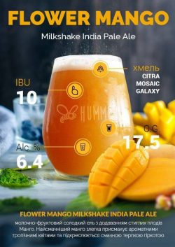 Cocs Oatmeal IPA, Flower Mango IPA, Motor DIPA и Novello Vino IGA – новинки от Hummel