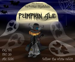 Новая жизнь и Pumpkin Ale от White Rabbit Art Brewery