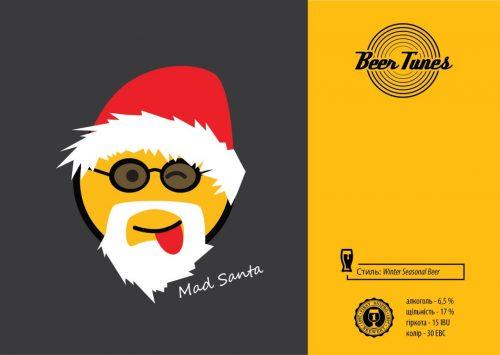 Mad Santa – последний сорт линейки Beer Tunes из Днепра