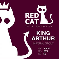 King Arthur — новинка от Red Cat Craft Brewery
