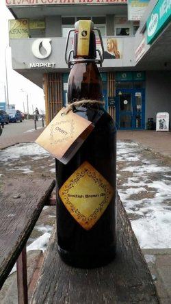 Scottish Brown Ale – еще одна крафтовая новинка от Оболони