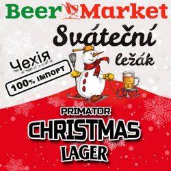 Sváteční ležák - новогодний сорт от Primátor в Украине