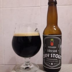 Irish Dry Stout - новинка от Bierwelle
