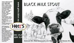 Black Milk Stout - новинка от Hott's из Хотяновки