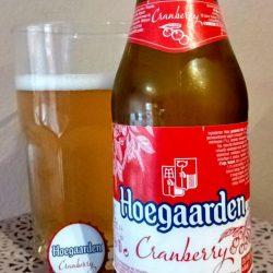 Hoegaarden Cranberry - бельгийская новинка в Украине