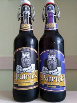 Пиво Patrickиз Закарпатья в бутылках