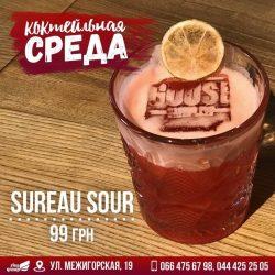 Hyter Sprites и коктейль Sureau Sour в Goose Gastro Pub