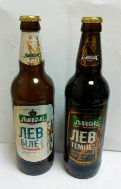 Лев Біле и Лев Темне - бутылочные новинки от Carlsberg Ukraine