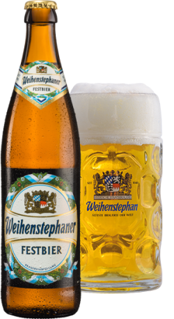 Weihenstephaner Festbier - немецкая новинка от Weihenstephan в Украине
