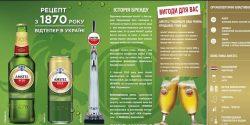Пиво Amstel начали варить в Украине