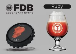 Ruby - новый сорт линейка пива Legendary Stars из Днепра