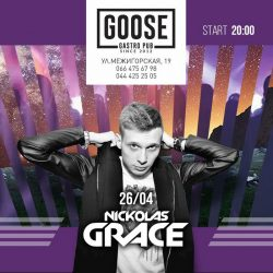 Wiki Sour и Nickolas Grace в Goose Gastro Pub