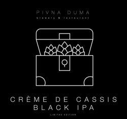Black IPA Creme de Cassis – новинка от Пивной думы