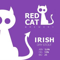 Irish – новинка от Red Cat Brewery