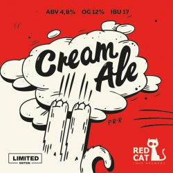 Cream Ale – новинка от Red Cat Brewery