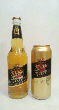 Пиво Miller Genuine Draft начали варить в Украине