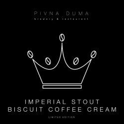 Imperial Stout Biscuit Coffee Cream – новинка от Пивной думы