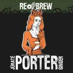 Jūratė Ginger Baltic Porter и Sedna NEIPA – новинки от пивоварни Rebrew