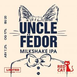Uncle Fёdor – новинка от Red Cat Brewery
