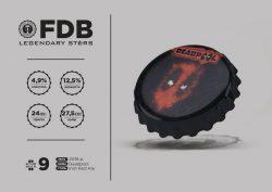 Deadpool – новый сорт линейка пива Legendary Stars из Днепра