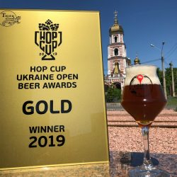 Награды Hop Cup Ukraine Open Beer Awards пивоварни Ale Point