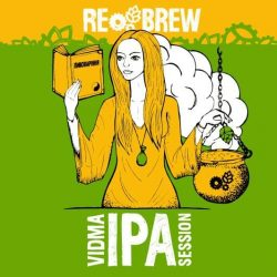 Vidma Session IPA и Freyja Pine Shoots Berliner Weisse – новинки от пивоварни Rebrew