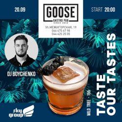 Музыка и акции в Goose Gastro Pub
