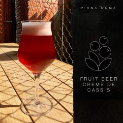 Fruit Beer Creme de Cassis – еще одна новинка от Пивной думы