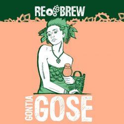 Gontia Gose - новинка от пивоварни Rebrew