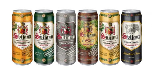 Чешское пиво от Pivovar Svijany в Украине