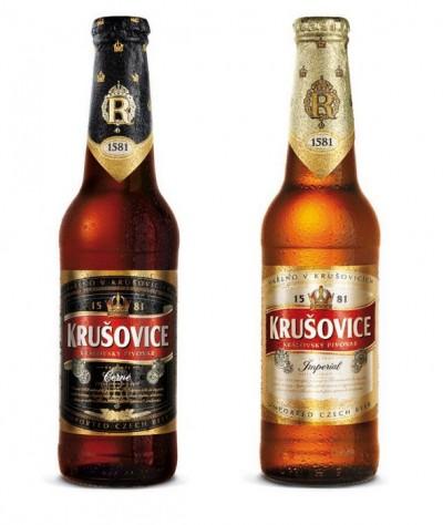 Акция на Krusovice в супермаркетах Billa