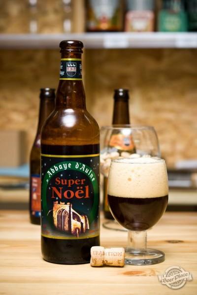 Дегустация пива Abbaye d'Aulne Super Noël