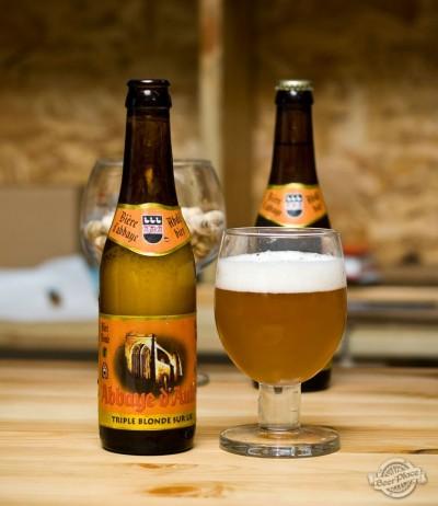 Дегустация пива Abbaye d'Aulne Triple blonde