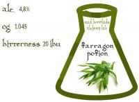 Alchemy Lab: Tarragon potion и Brunat Wood-Aged Brown Ale  - еще две новинки от Mad Brewlads