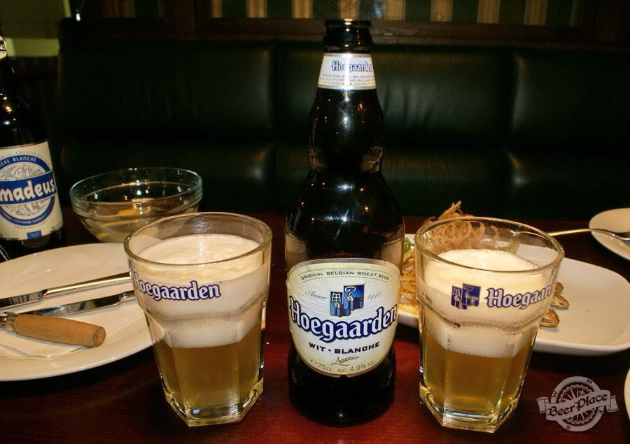 Дегустация пива Amadeus и Hoegaarden в пабе Гастророк. Hoegaarden