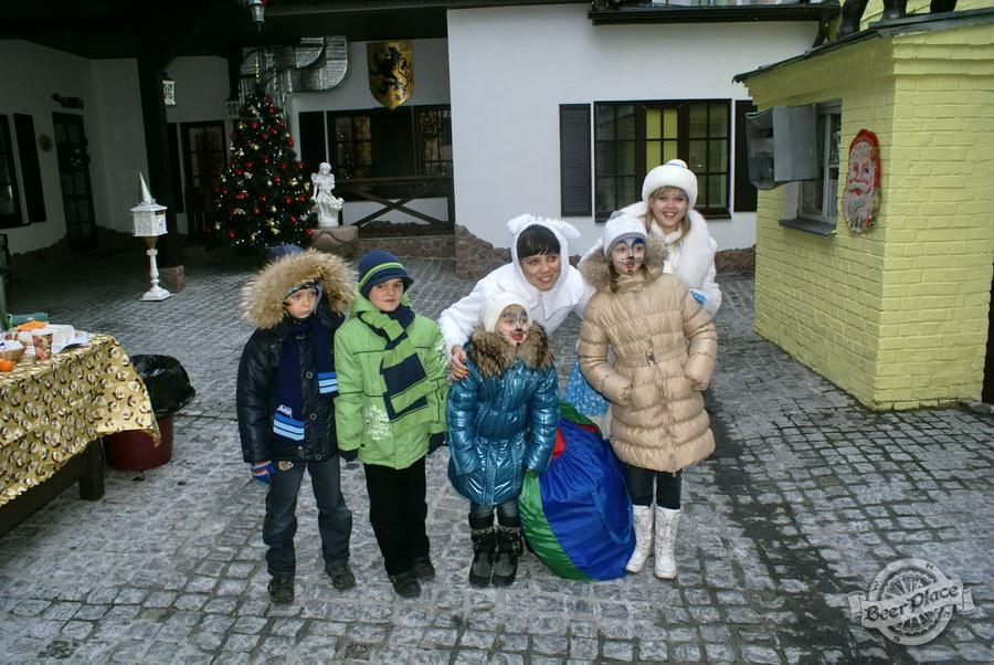 Фоторепортаж. Рождественская ярмарка в музее-ресторане Антверпен. Детские развлечения