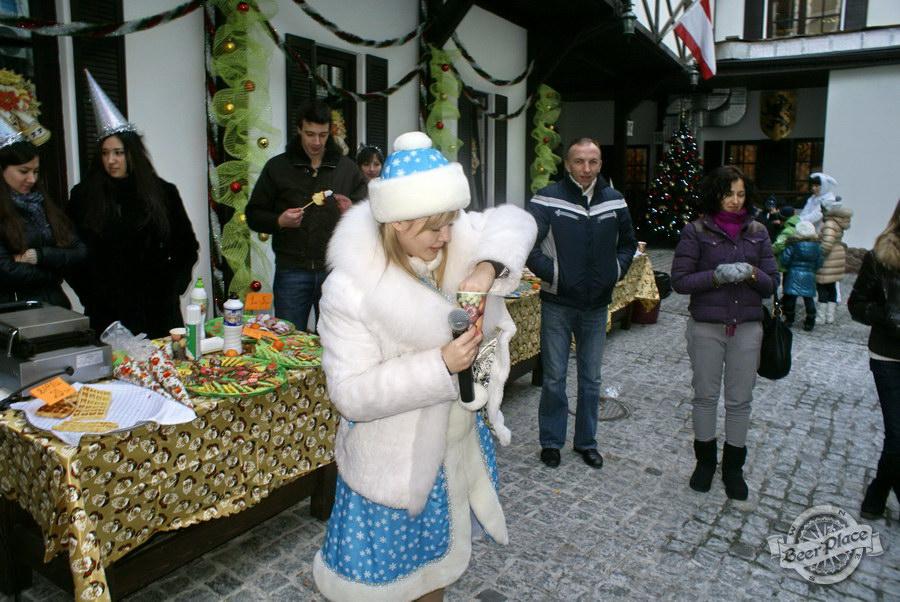 Фоторепортаж. Рождественская ярмарка в музее-ресторане Антверпен. Лотерея