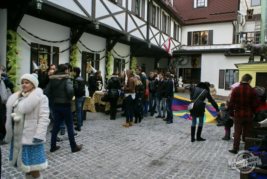 Фоторепортаж. Рождественская ярмарка в музее-ресторане Антверпен. Торговые ряды