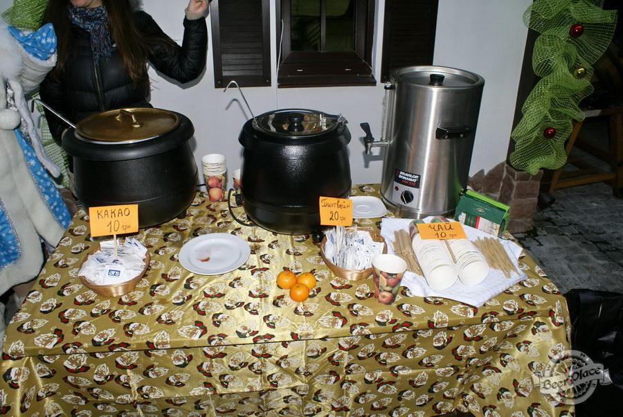 Фоторепортаж. Рождественская ярмарка в музее-ресторане Антверпен. Горячие и горячительные напитки