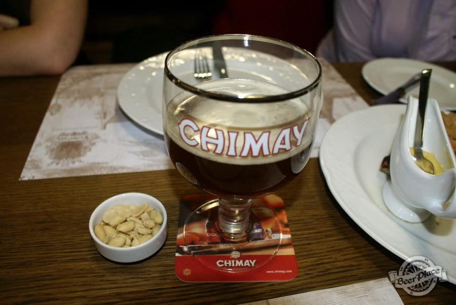 Обзор. Музей-ресторан Антверпен. Chimay с орешками