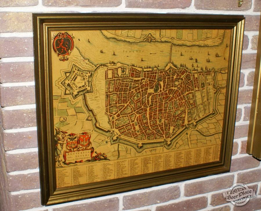 Обзор. Музей-ресторан Антверпен. Карта Антверпена