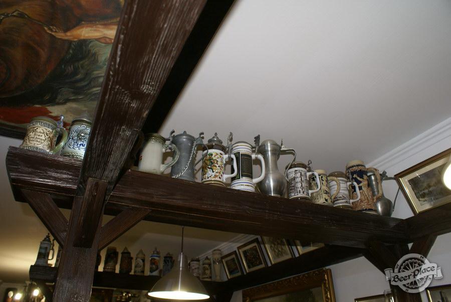 Обзор. Музей-ресторан Антверпен. Коллекция пивных кружек