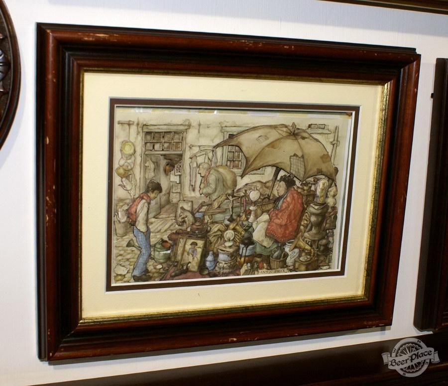 Обзор. Музей-ресторан Антверпен. Объемные картины