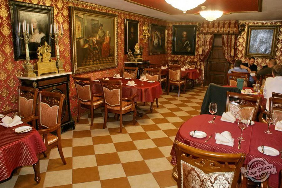Обзор. Музей-ресторан Антверпен. Французский зал